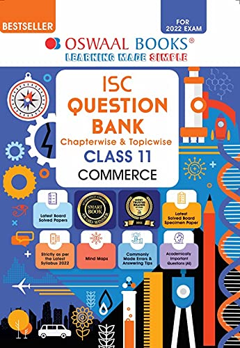 Oswaal ISC Question Bank Class 11 Commerce Book Chapterwise & Topicwise (For 2022 Exam)