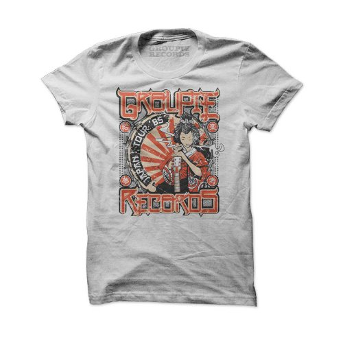 GEISHA; Rock'n'Roll T-Shirt Herren, offwhite, XL