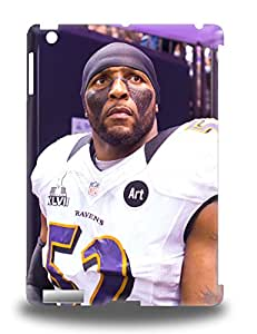 Slim Fit Tpu Protector Shock Absorbent Bumper NFL Baltimore Ravens Ray Lewis #52 3D PC Case For Ipad Air ( Custom Picture iPhone 6, iPhone 6 PLUS, iPhone 5, iPhone 5S, iPhone 5C, iPhone 4, iPhone 4S,Galaxy S6,Galaxy S5,Galaxy S4,Galaxy S3,Note 3,iPad Mini-Mini 2,iPad Air )