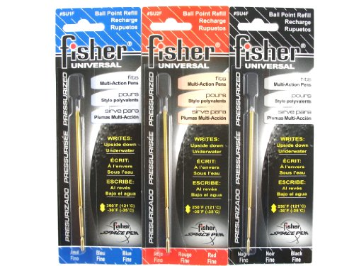Fisher Space Refills UNIVERSAL COLOR