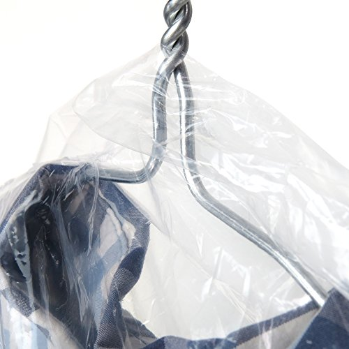 Hangerworld Pack of 20 Clear Polythene Garment Covers - 38 Inches