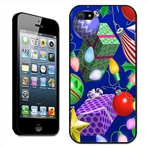 Fancy A Snuggle - Carcasa rígida para iPhone 5 con diseño de Navidad