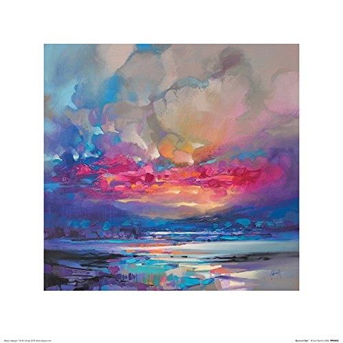 Art Group The Quantum Skye Print, Multi Coloured, 40 x 40cm The Art Group PPR45852