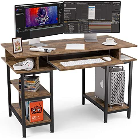 Mecor Computer Desk,Office Desk Study Table Workstation