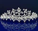 SparklyCrystal Rhinestone Bridal Wedding Prom Tiara Crown 72856