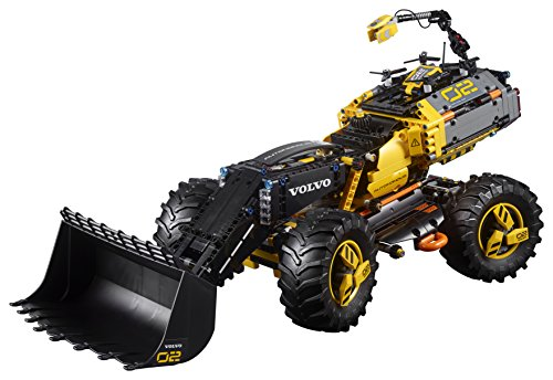 LEGO- Technic Volvo Ruspa gommata ZEUX, Multicolore, 42081 2 spesavip