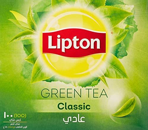 Lipton Classic Green Tea 100 Tea Bags (Made In UAE), 150g
