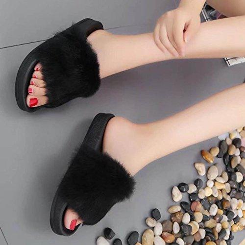 Pantofole Da Casa Morbide Morbide Antiscivolo Da Donna Di Tenworld Womens Nere