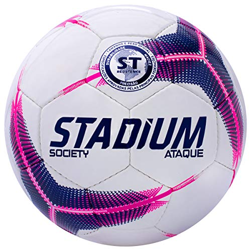 Bola Society Ataque Ix Stadium 69 Cm Rosa
