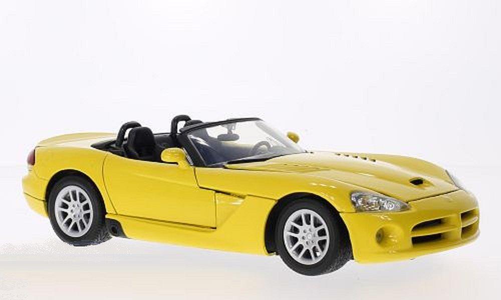 Motormax 1:18 Dodge Viper SRT-10 2003 Fertigmodell gelb Modellauto