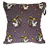 Unicorn Cloth Diaper Wet Baby Bag