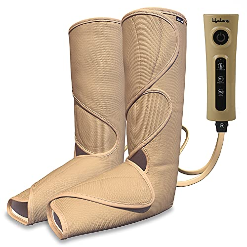 Lifelong Full Leg Air Compression Massager for blood circulation and pain relief