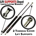 "Qty(2) PM2047 SE1024M80BL 4567 Tonneau Cover lift Supports 26.32"" Extended 13mm ends"
