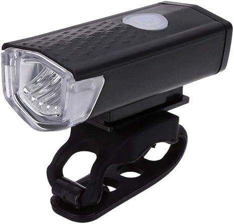 Mzj Lámpara LED para Bicicletas, Bicicleta Lámpara Recargable para ...