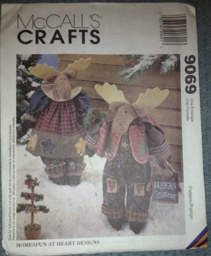 McCall's Crafts Sewing Pattern 9069 ; 16 1/2