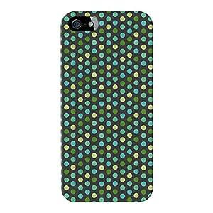 Armadillo Cases Lunares Verde Oscuro Full Wrap Case Impreso en 3d gran calidad, para iPhone 5/5S de Gadget Glamour
