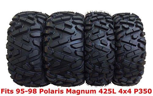 Set 4 WANDA ATV tires 25x8-12 & 25x11-10 for 95-98 Polaris Magnum 425L 4x4 P350