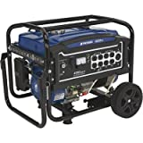 Powerhorse Portable Generator 4000 Surge Watts, 3100 Rated Watts, Electric Start, EPA Compliant