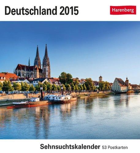 Deutschland Sehnsuchtskalender 2015: Sehnsuchtskalender, 53 Postkarten