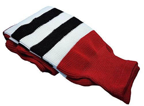 Hockey Socks Knit Made in Canada for Hockey Players (Junior 24