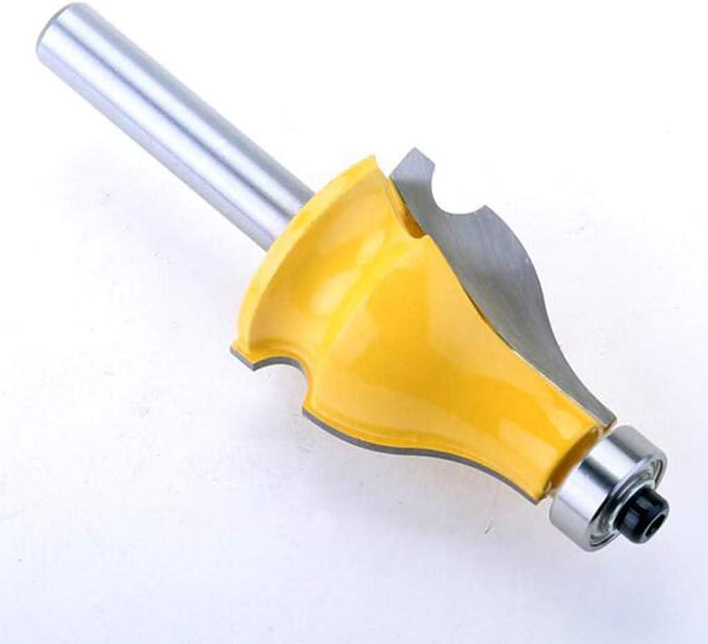 F Fityle Holzfr/äser Cucurbit Modell Hochwertige Hartmetalllegierung 1//2 Schaft