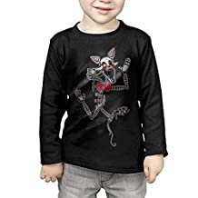JUshuo Kids Five Nights At Freddy Foxy The Mangle Long Sleeve T Shirts