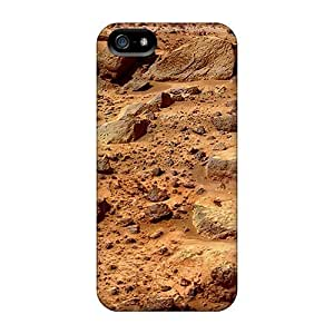 Top Quality Rugged Mars Surface Case Cover For Iphone 5/5s