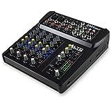 ALTO Professional ZMX862 - Table de Mixage Compacte 6 Voies avec Entrée XLR, EQ et Aux In/Out