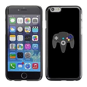LECELL--Funda protectora / Cubierta / Piel For iPhone 6 -- JUEGO PARA SIEMPRE N64 --
