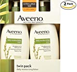 Aveeno Active Naturals Daily Moisturizing Lotion, NEW 2 pack of 20 FL oz Pump