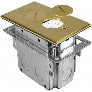 Orbit Industries Flb R1g Br Floor Receptacle Cover