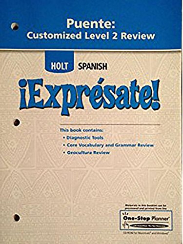 ¡Exprésate!: Puente Customized Review Levels 1A/1B/1