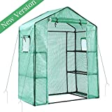 Ohuhu Large Walk-in Plant Greenhouse, Garden Green House for Outdoor Indoor Use