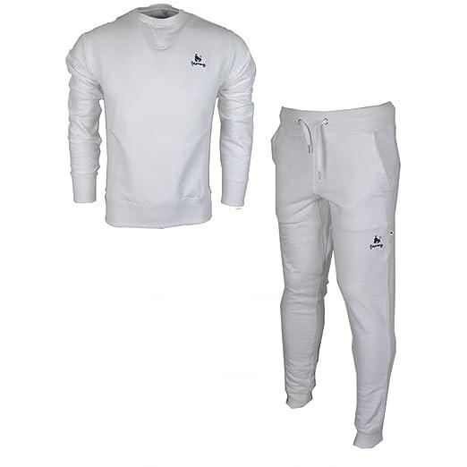 b5f9773d729a1 Money Clothing Sig Ape Crew Neck White Tracksuit M White at Amazon ...