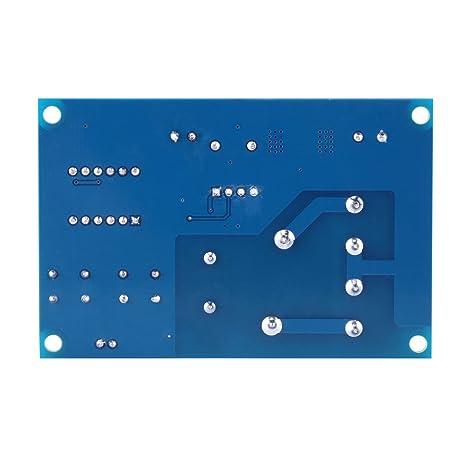 Walfront 6-60V Blei-S/äure Lithium-Akku Laden Control Modul Schutz Switch