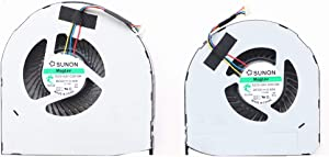 NBFAN EG75150S1-C030-S9A and EG75150S1-C040-S9A for Dell Precisio 7710 m7710 M7720 Laptop CPU & GPU Cooling Fan