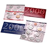 2000 P&D US Mint Uncirculated Coin Set