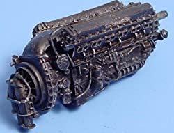 1/48 Rolls Royce Merlin Mk 11 Engine from AIRES HOBBY