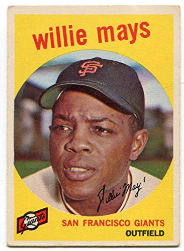 - Willie Mays 1959 Topps Card