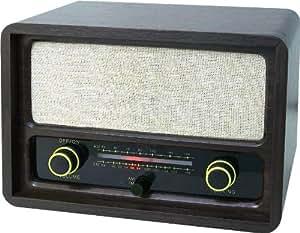 Roadstar HRA-1410 - Radio (Portátil, Analógico, FM, MW, 1.2 W, 10 %, 230 mm) Negro
