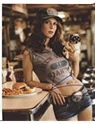 "* KRISTEN WIIG * sexy signed 8x10 photo ""Saturday Night Live"" / UACC RD # 212"