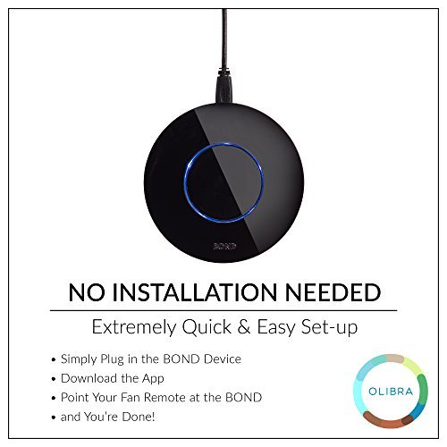 BOND | Smart Home Automation |Compatible with Alexa and Google Home  |Compatible with iPhone or Android (Renewed)