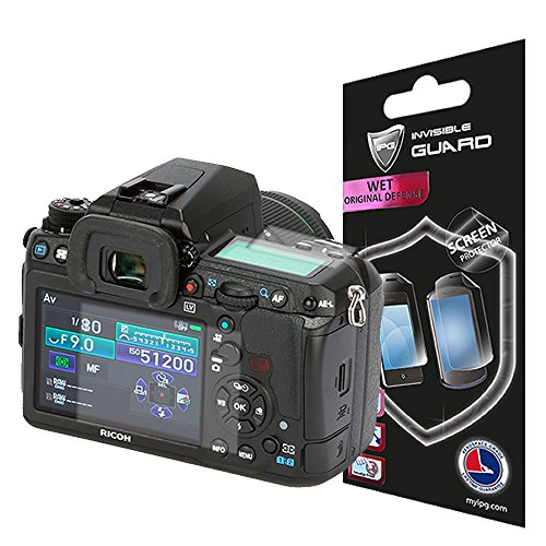 IPG for PENTAX K3 K-3 Camera (2 Units one for Back one for Upper) Screen Protector Skin Lifetime Replacement Warranty Invisible Protective HD Clear Guard - Smooth/Self-Healing/Bubble -Free
