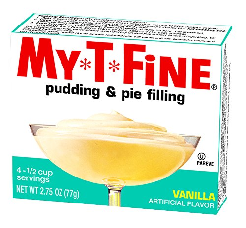 My-T-Fine Pudding Dessert Mix, Vanilla, Fat Free (12 - 2.75 oz Boxes) ()