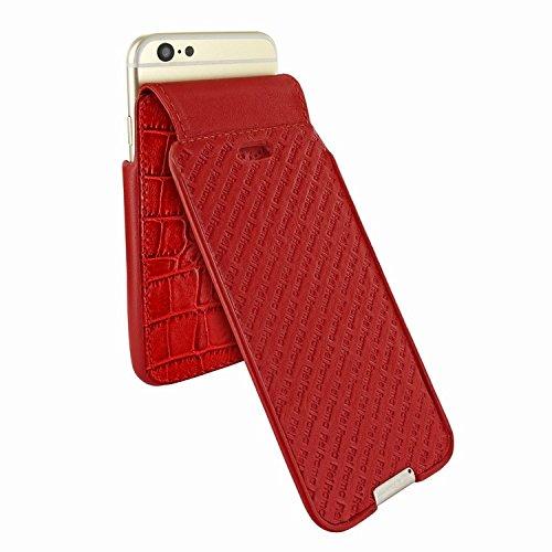 Piel Frama 685 Red Crocodile iMagnum Leather Case for Apple iPhone 6 Plus / 6S Plus / 7 Plus / 8 Plus by Piel Frama (Image #3)