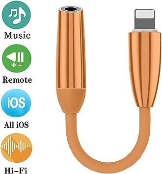 Adaptador para iPhone 7 Auriculares de 3.5 mm Jack Audio
