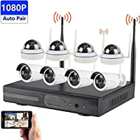 Solo HD 1080P 8CH Wireless NVR with HDMI Output CCTV Security Outdoor IR Dome and Bullet Camera 2TB HDD (K9608W-PE3020W)