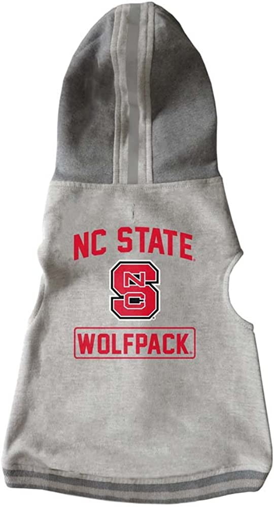 Hoodie Sweatshirt Designed for Dogs and Cats Littlearth NCAA Unisex NCAA Pet Hoodie Crewneck Sweatshirt
