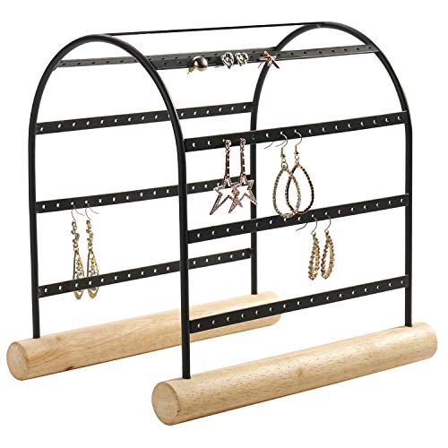 - MyGift Modern Arched Design 72-Pair Earring Display Stand