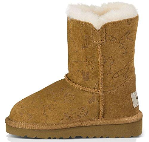 UGG Australia Toddler Talulah Boot Chestnut Size 8 M US Toddler
